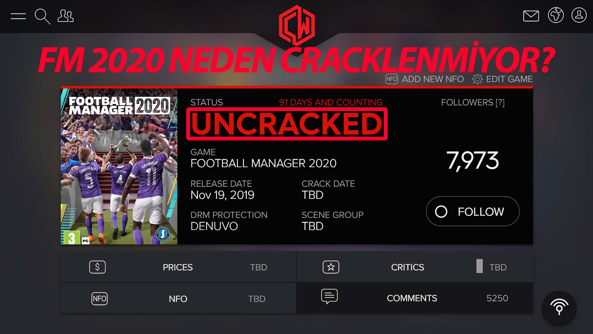 fm 2020 crackwatch