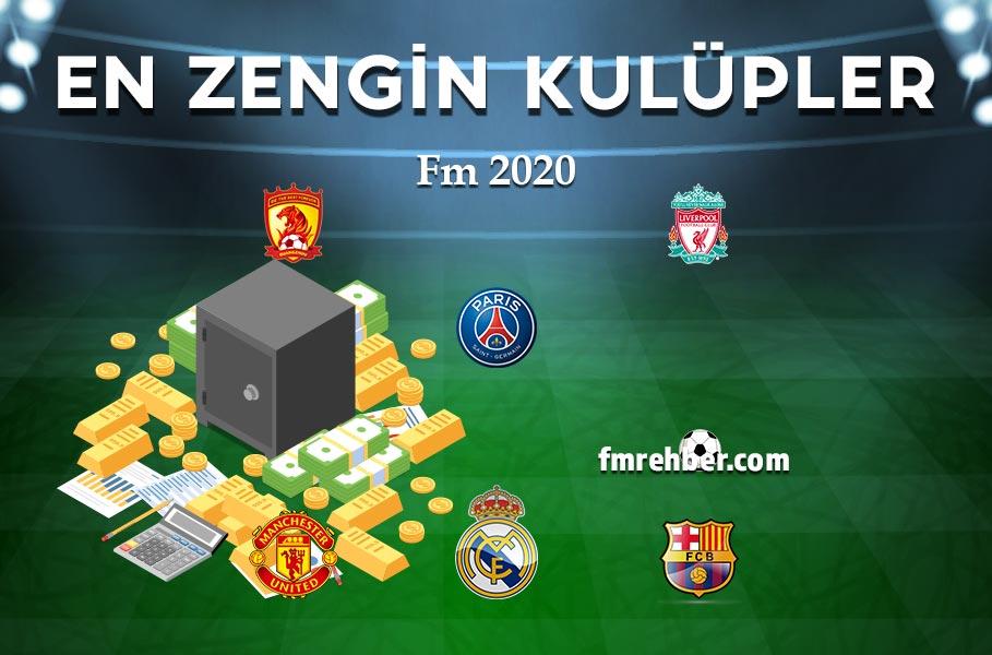 fm 2020 en zengin kulüpler