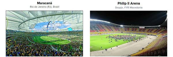 mini stadiums