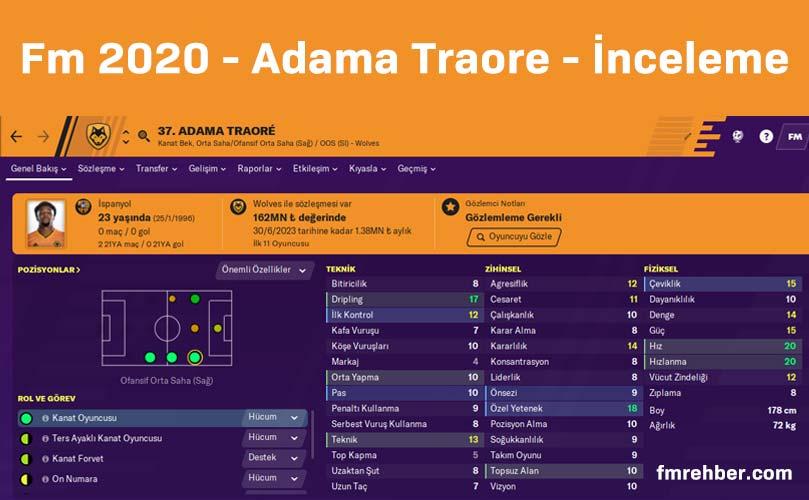 Fm 2020 Adama Traore