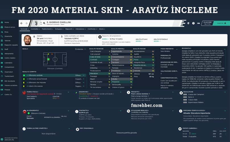 fm20 material skin