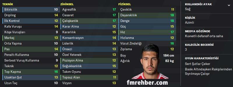 fm 2020 en iyi türk oyuncular emre can