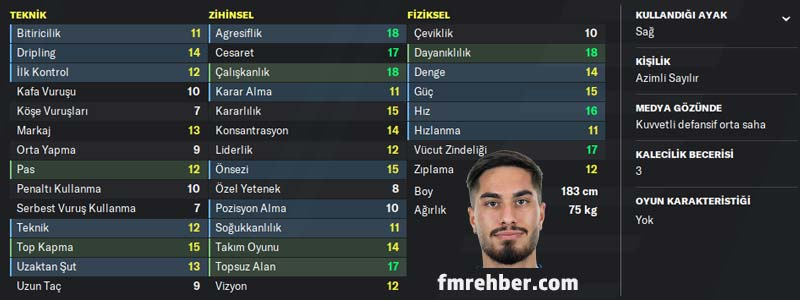 fm 2020 en iyi türk oyuncular suat serdar