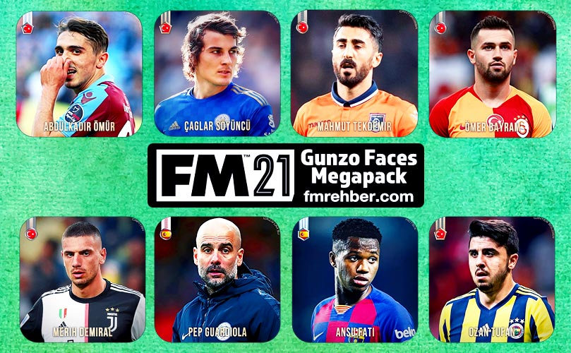 fm 21 gunzo faces megapack